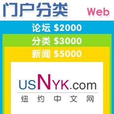 纽约网站制作,纽约地方门户网站设计